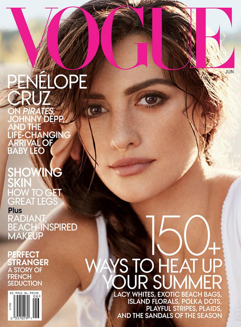 Vogue Magazine Uk May 2015 Issue: Penélope Cruz For American Vogue