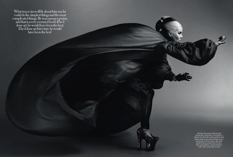 Kate Moss, Annabelle Neilson & Daphne Guinness for Harper ...