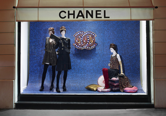 Chanel Window Shopping Paris Byzance