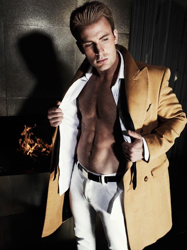 Chris Evans By Mario Testino For Gq