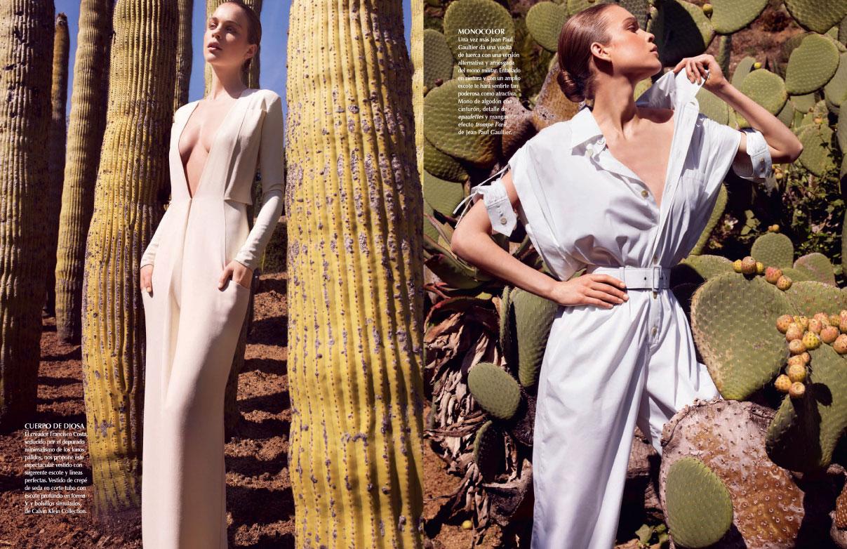 Kim Noorda By Marcin Tyszka For Vogue Latin America