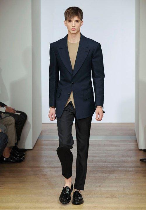 yves saint laurent menswear spring summer 2012 collection. Black Bedroom Furniture Sets. Home Design Ideas