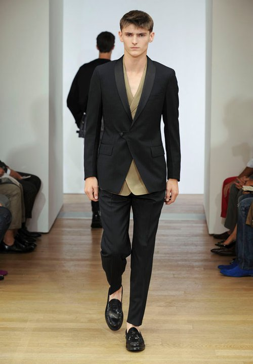 Yves Saint Laurent Menswear Spring Summer 2012 Collection