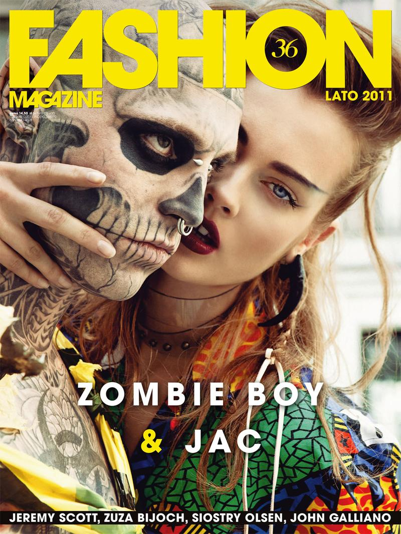 Zombie Boy Jac For Fashion Magazine