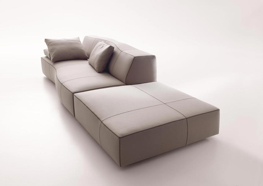 bend sofa by patricia urquiola for b b italia. Black Bedroom Furniture Sets. Home Design Ideas
