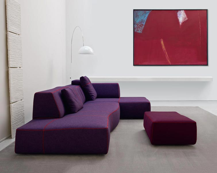 Bend sofa by patricia urquiola for b b italia for B b design