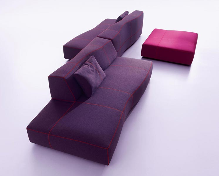 Bend sofa by patricia urquiola for b b italia for B b couch