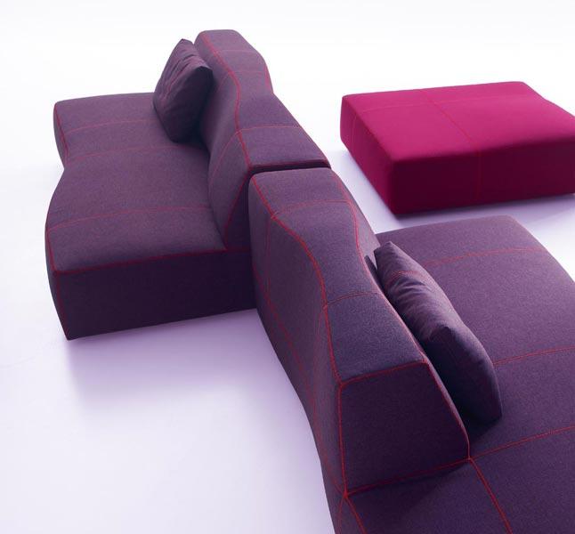 Bend Sofa by Patricia Urquiola for B&B Italia