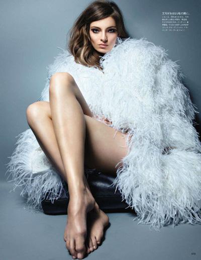 Carola Remer By Raymond Meier For Vogue Nippon
