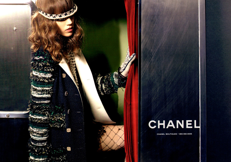 Freja Beha Erichsen For Chanel Fall Winter 2011 12