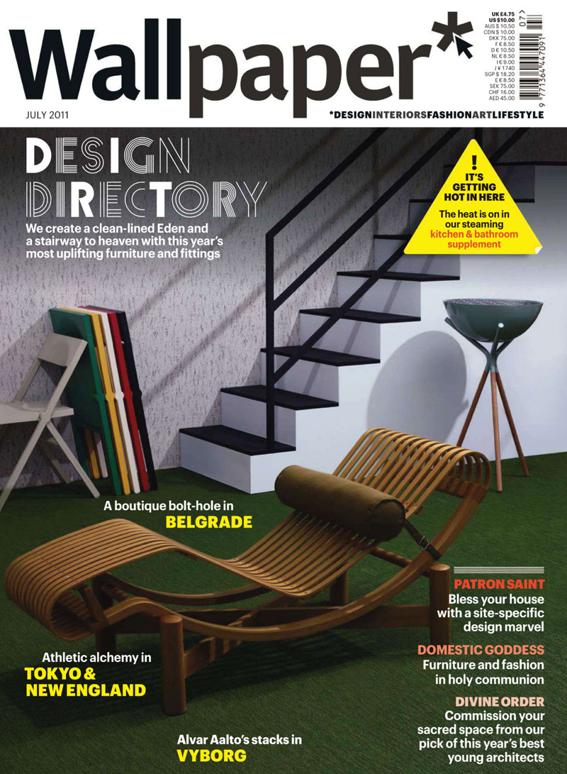Wallpaper july 2011 brings the design directory for Wallpaper new home