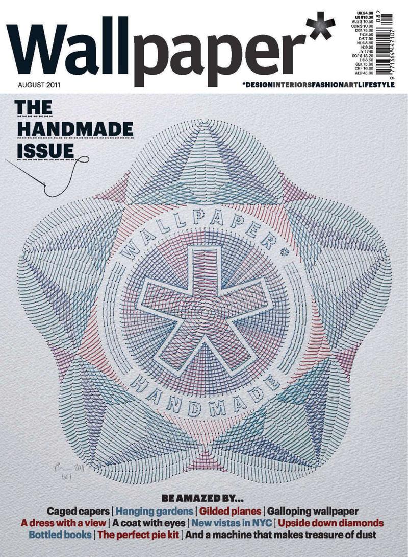 Wallpaper Design Handmade : Wallpaper the handmade issue august