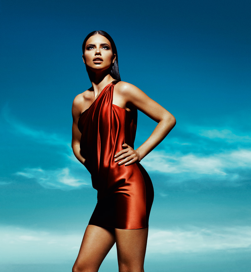 Adriana Lima: Adriana Lima & Arthur Sales For Forum Spring Summer 2012