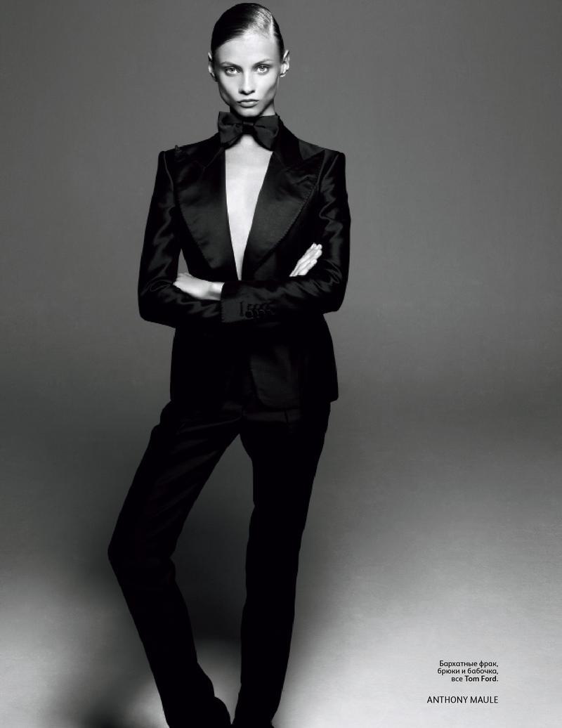 Anna Selezneva for Vogue Russia