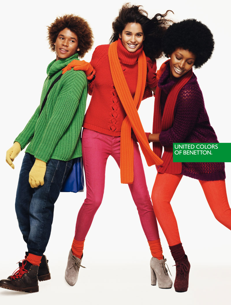 United colors of benetton by josh olins for Benetton we are colors