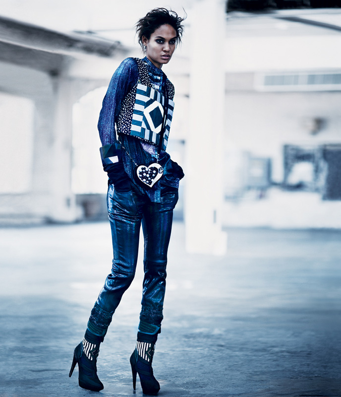 212f07a4a05 Joan Smalls for The New York Times T Style