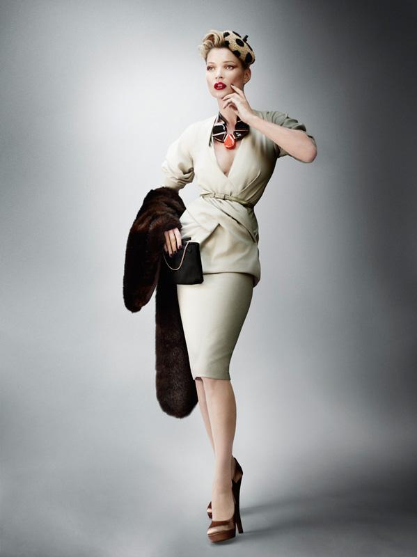 Kate Moss By Mario Testino For British Vogue