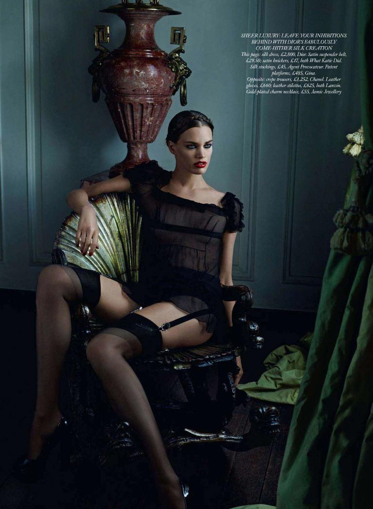 Rianne Ten Haken By Kacper Kasprzyk For Harpers Bazaar Uk Design