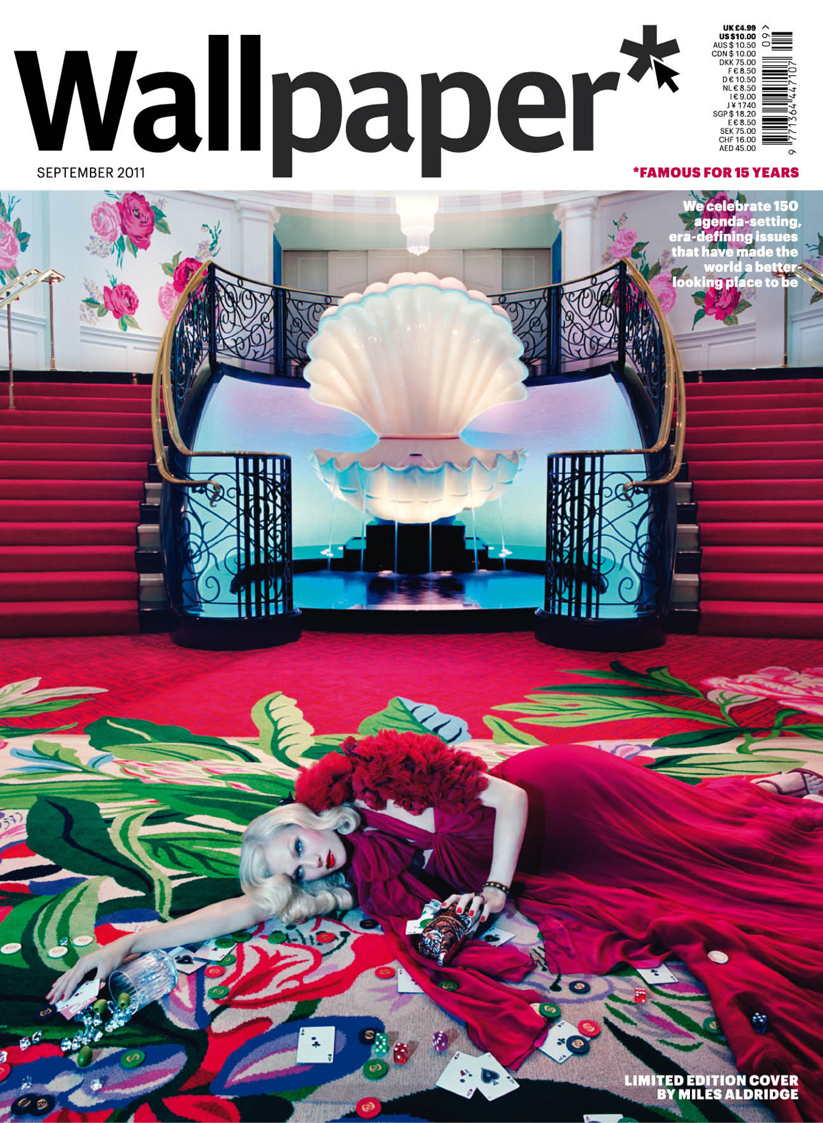 Wallpaper 2011 September Fashion Issue Ltd Edition Cover By Miles Aldridge