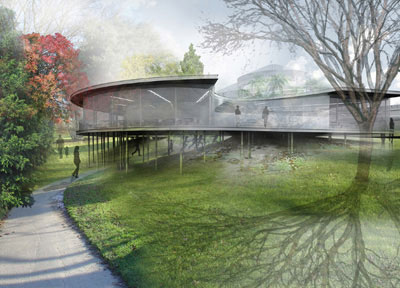 Svendeborg architects 39 design for botanical garden in arhus for Botanical garden design