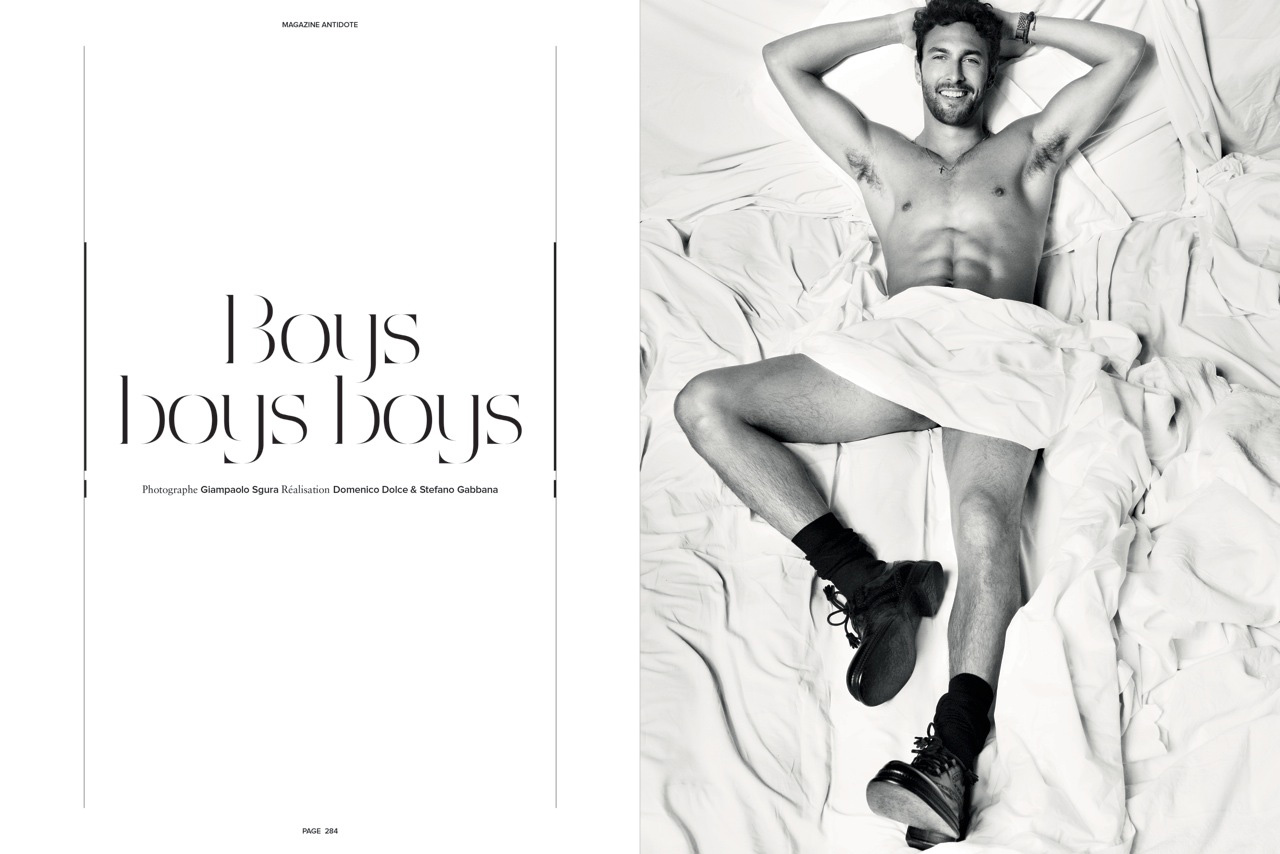 boys boys boys by giampaolo sgura for antidote feat