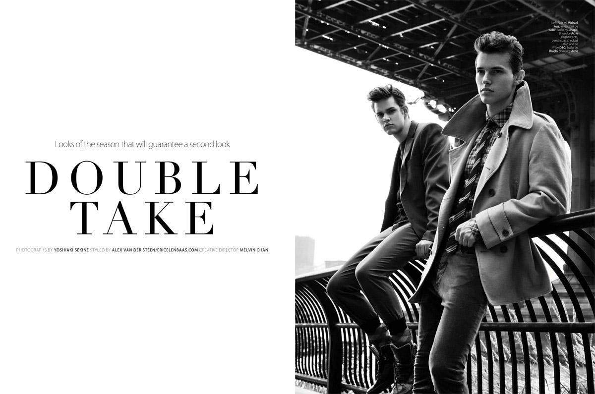 Double Take By Alex Van Der Steen Yoshiaki Sekine