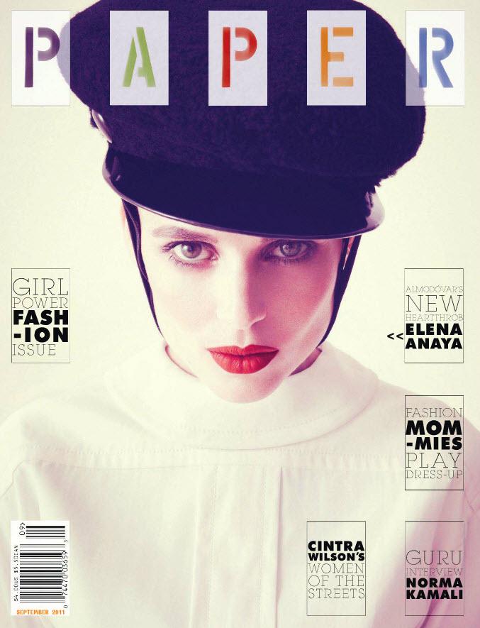 Elena Anaya Covers Paper Magazine's Girl Power Fashion Issue