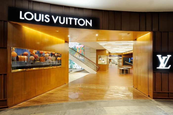 Louis Vuitton Island Maison In Singapore Opened Today