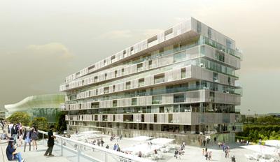 Residential Complex Farshid Moussavi