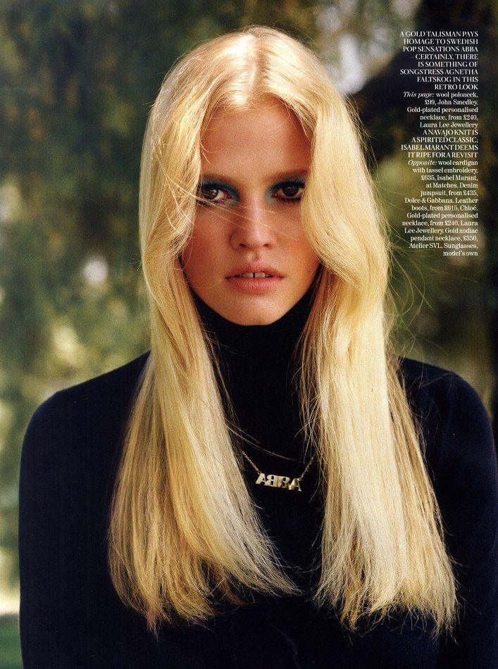 Lara Stone By Alasdair Mclellan For Vogue Uk