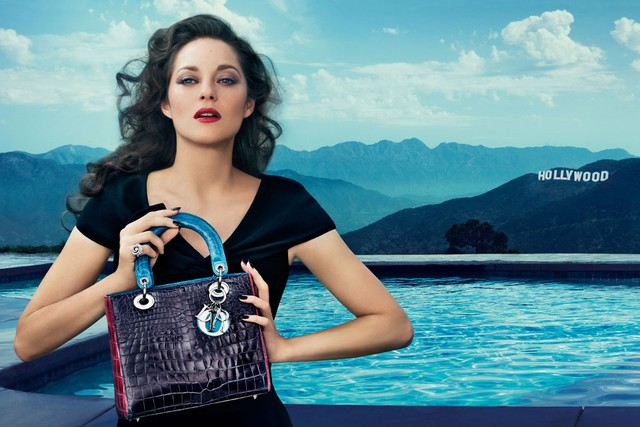 Marion Cotillard for Christian Dior Lady Dior 04c34214d813b