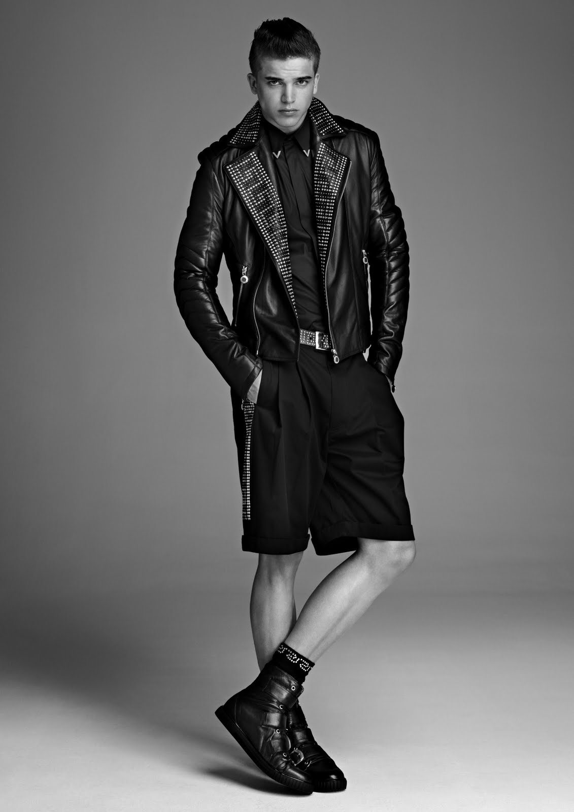 Versace Men 2015 Spring Summer: River Viiperi For Versace For H&M Men's