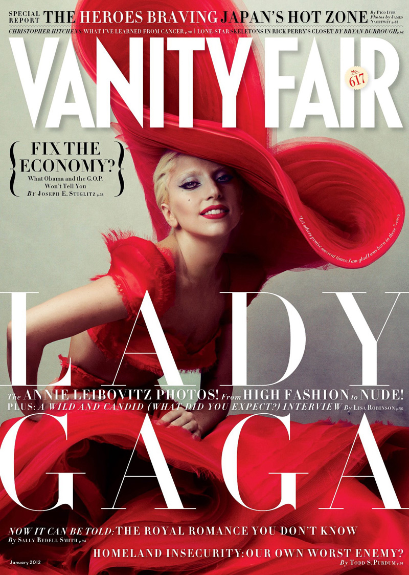 gaga by liebovitz for vanity fair