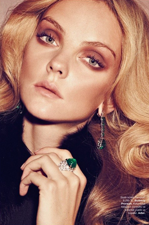 Heather Marks For Elle France: Heather Marks For Harpers Bazaar Turkey December 2011