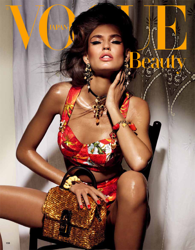 JESSICA STAM Vogue Italia Supplement Magazine 11/10 DARIA WERBOWY 10PGS