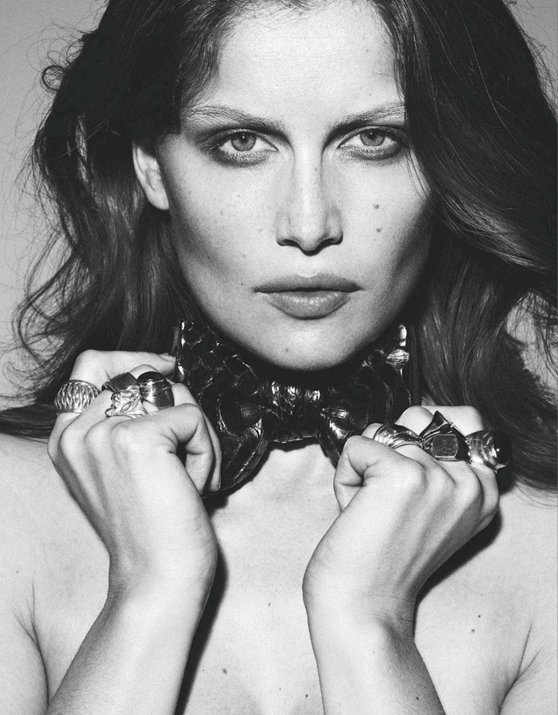 Laetitia Casta For Amica January 2012