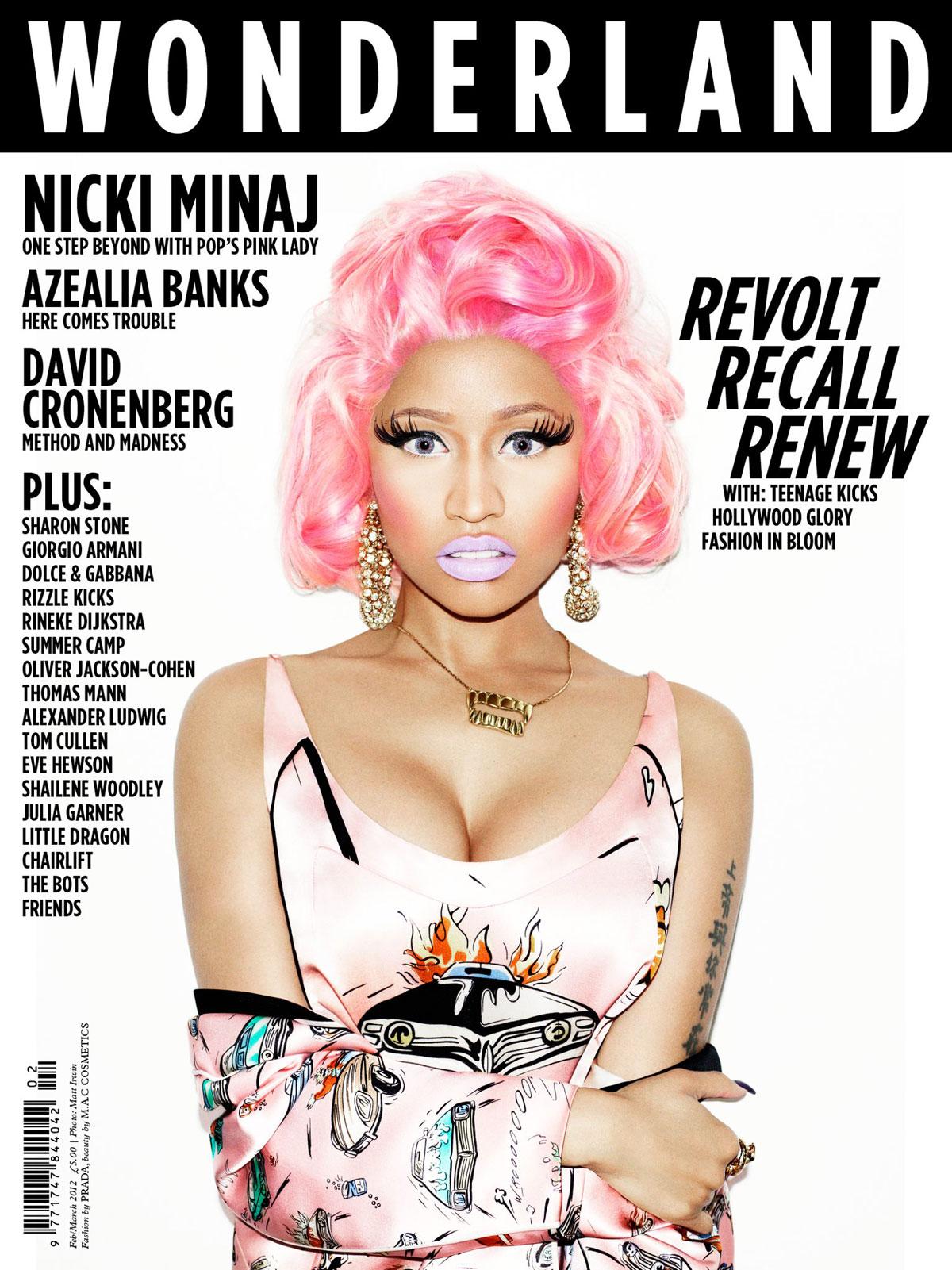 Nicki Minaj in PRADA for Wonderland Magazine
