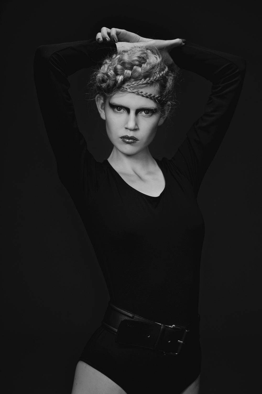 ... Ola Rudnicka at Next Models shot with Maja Naskretska elegant styling