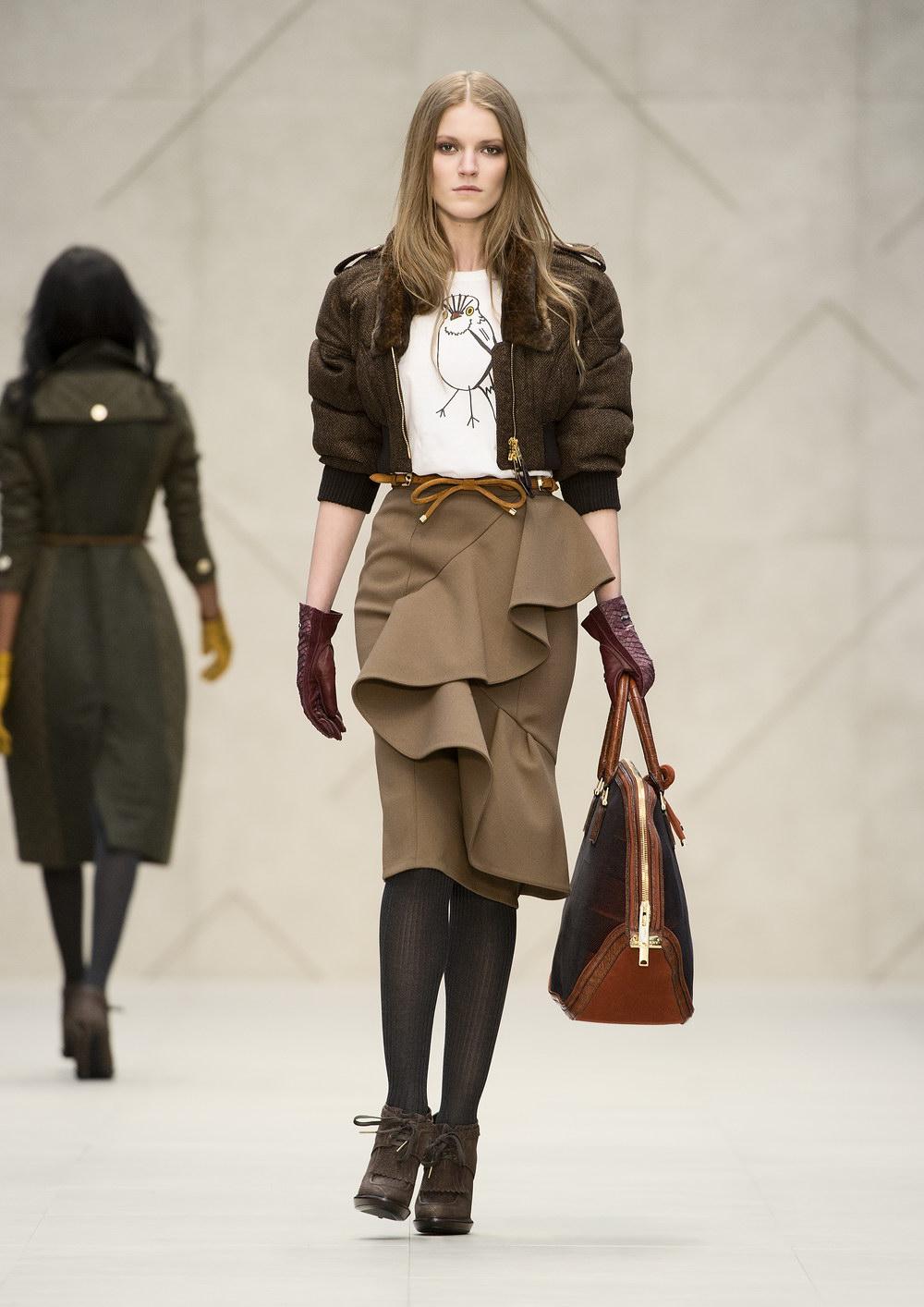 RUNWAY: Burberry Prorsum Autumn Winter 2012.13 Womenswear ...