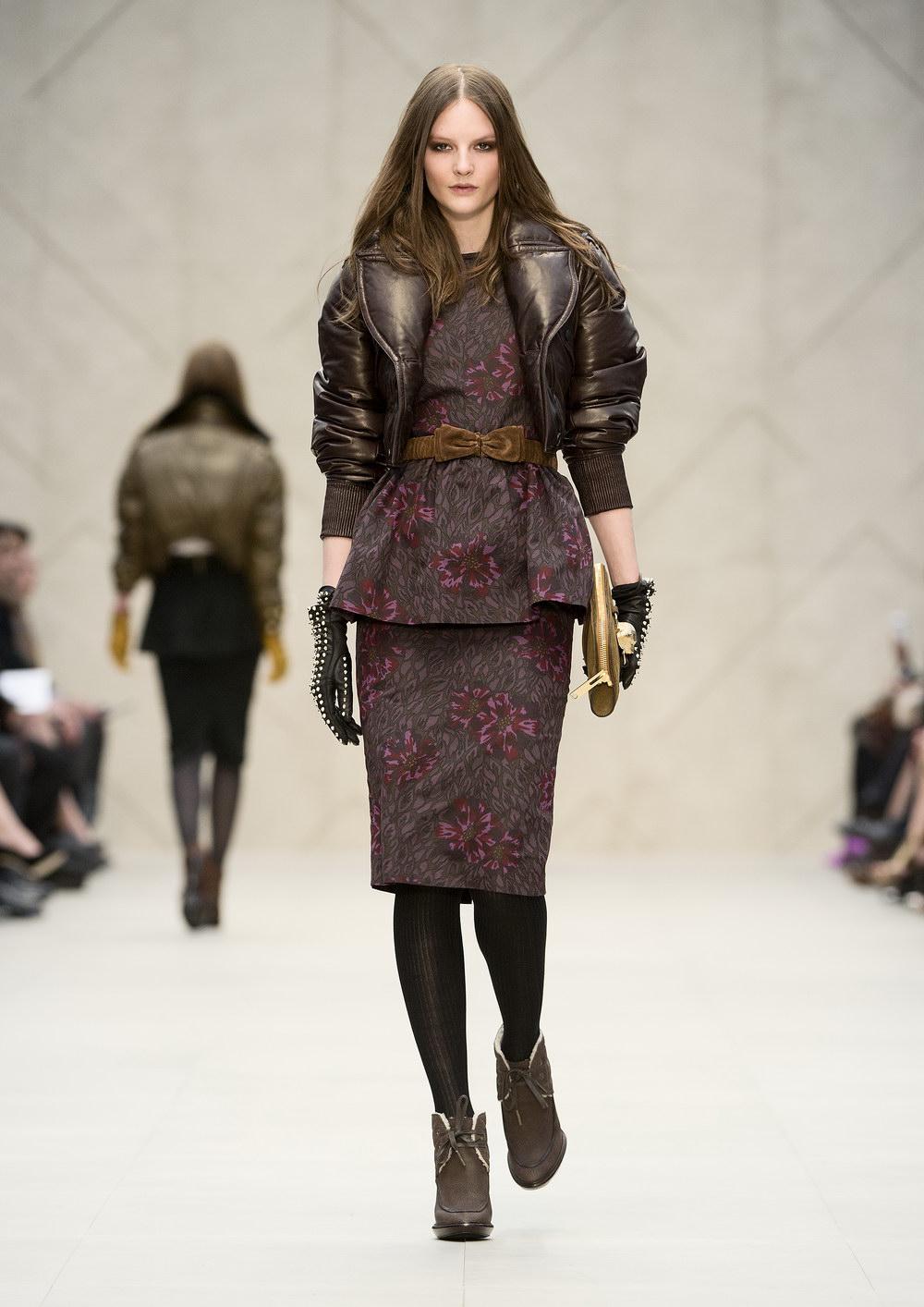 Burberry Prorsum Runway London Fashion Week Aw14: RUNWAY: Burberry Prorsum Autumn Winter 2012.13 Womenswear