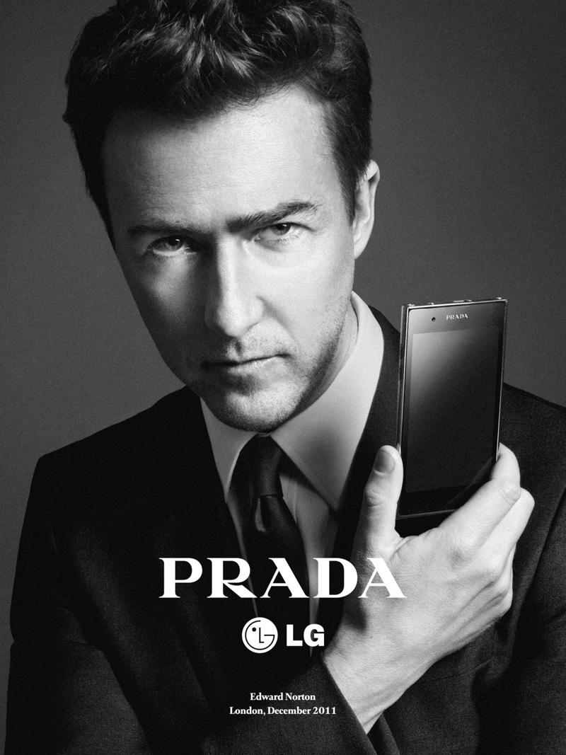 Daria Werbowy & Edward Norton for Prada LG Phone 3.0 Gisele Bundchen Net