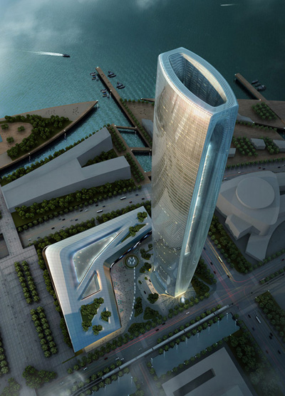 Suzhou Center SOM