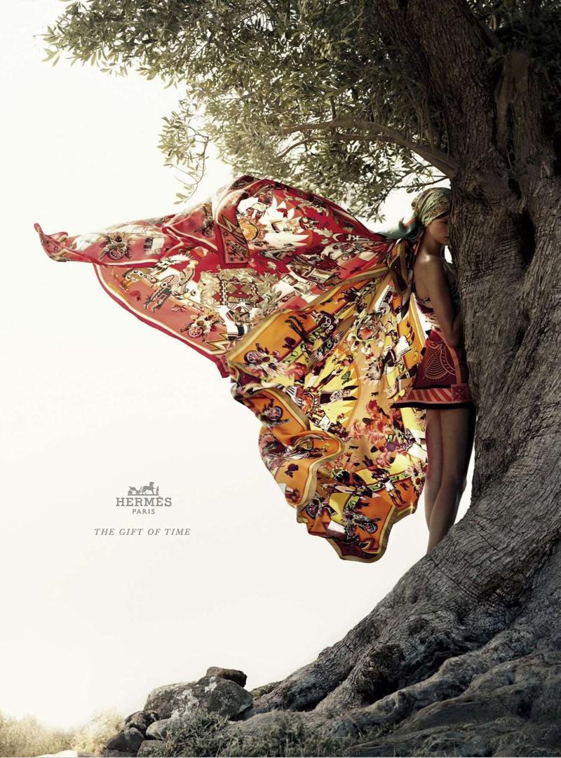 1st LOOK: Bette Franke for Hermès