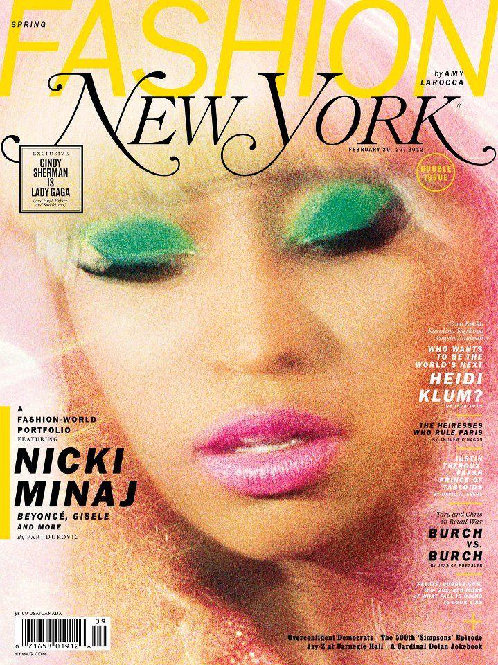 Nicki Minaj For New York Magazine Spring Fashion February 2012