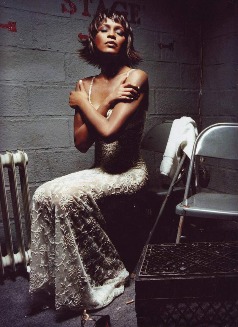 Whitney houston by david lachapelle for The whitney
