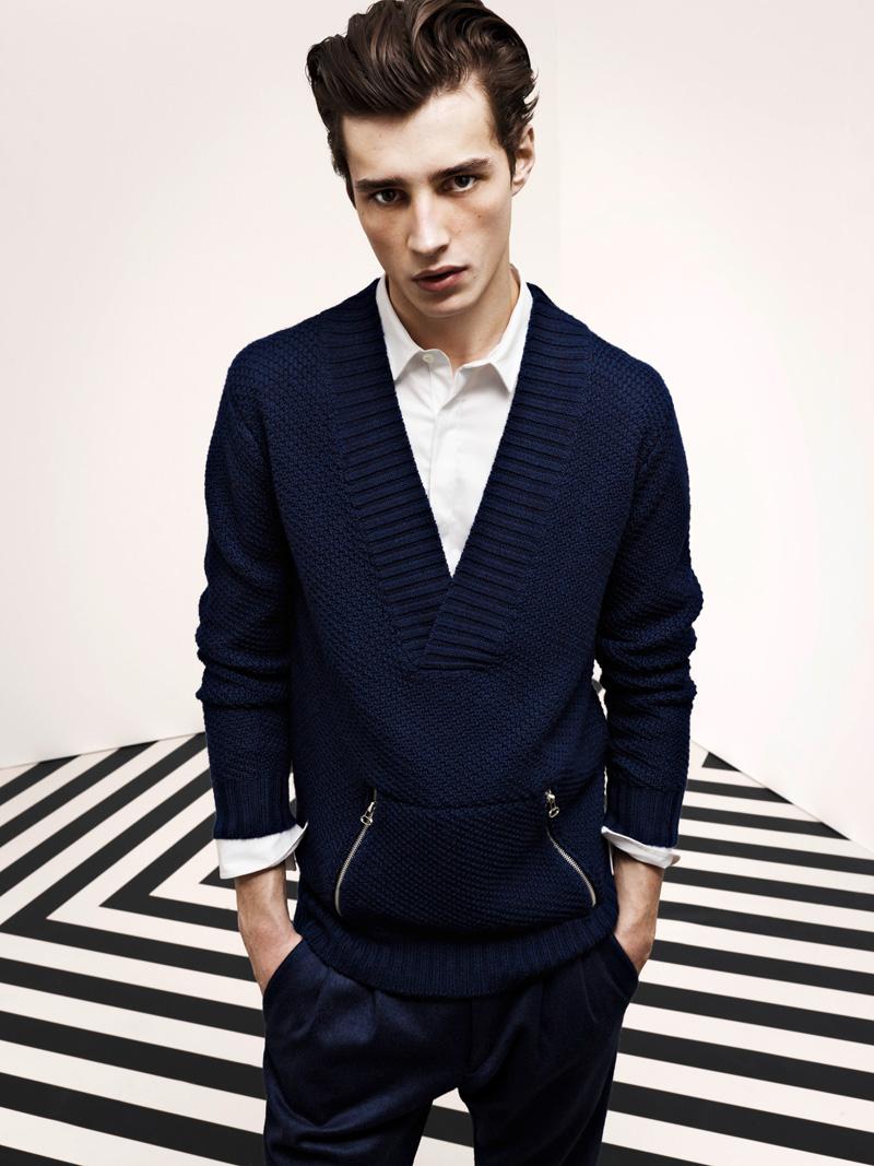 Italian Boy Name: Pierre Balmain FW 2012-2013 Collection