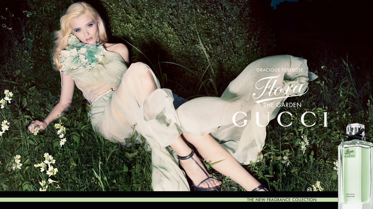 Abbey Lee Kershaw For Gucci Flora The Garden Collection