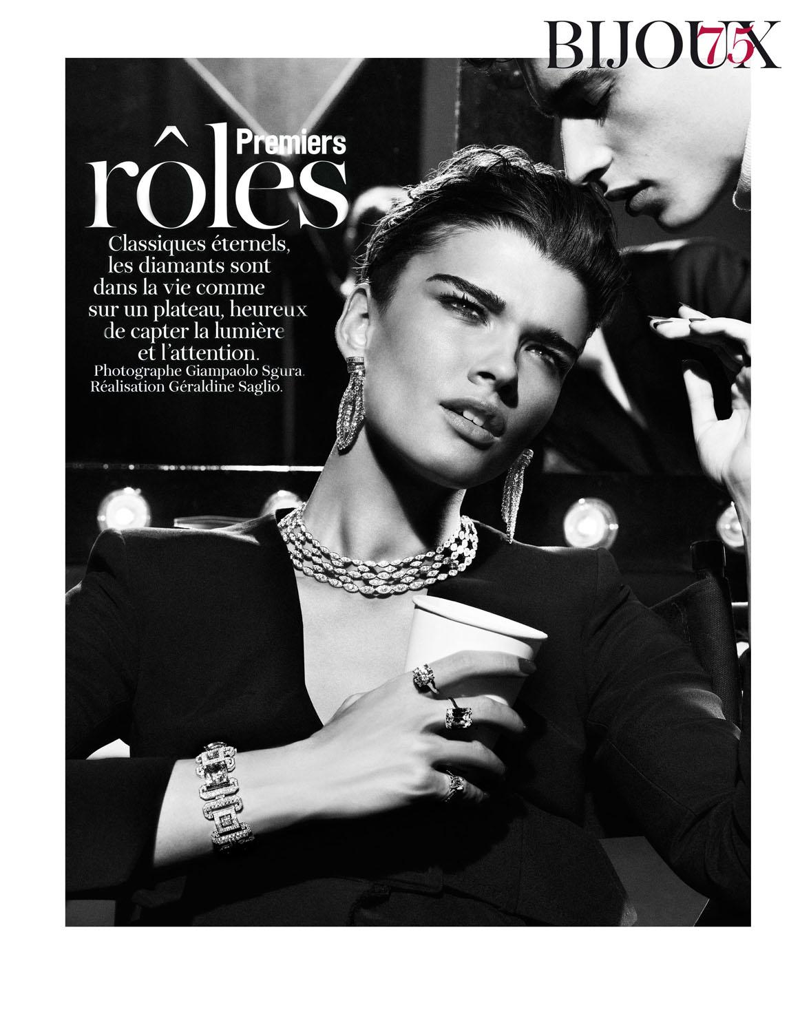 9bb4886cf80 Crystal Renn   Adrien Sahores by Giampaolo Sgura for Vogue Paris
