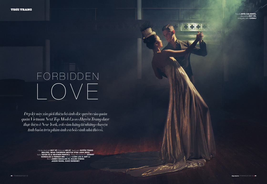 forbidden love by an le for dep magazine