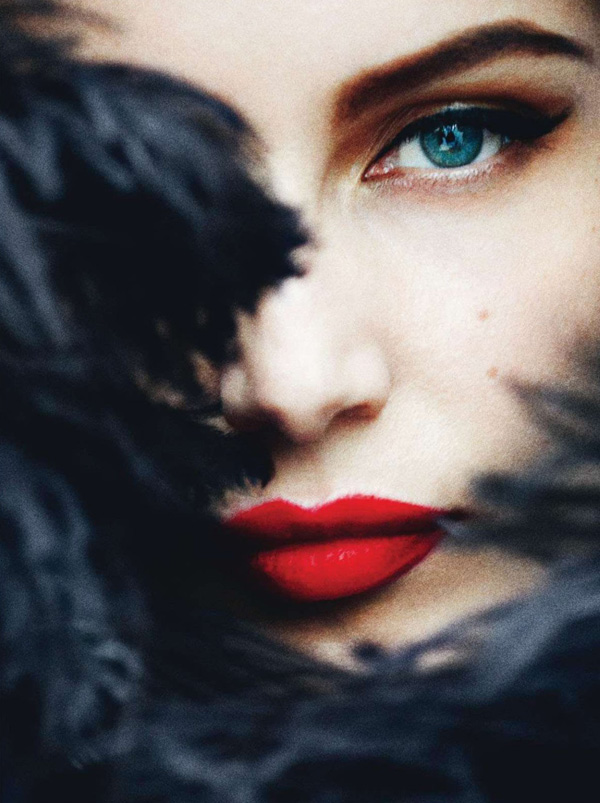 Laetitia Casta by Mario Testino for French Vogue